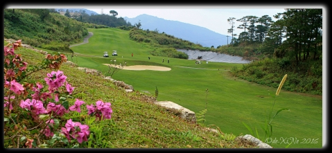 Baguio Manduto Restaurant at Pinewoods Golf and Country Club golf course