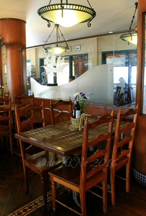 a section of the dining area at Baguio Voyager Restaurant at El Cielito Inn (2)a