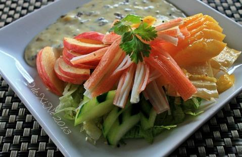 2013-12-05 Baguio Bay Leaf Restaurant by Cris d Cuisine (1) kani salad