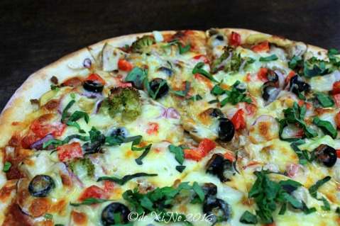 2016-03-30 Baguio Pizza by Hygge Cafe everything but pineapple chunks pizza