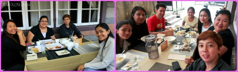 Old friends and new friends hanging out at Baguio Garahe - weekend restaurant-cafe