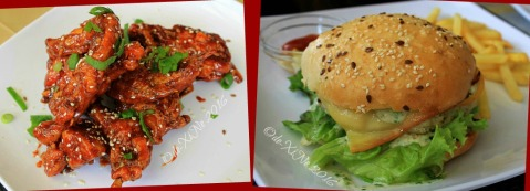 Baguio Garahe - weekend restaurant-cafe buffalo wings and Garahe chicken burger