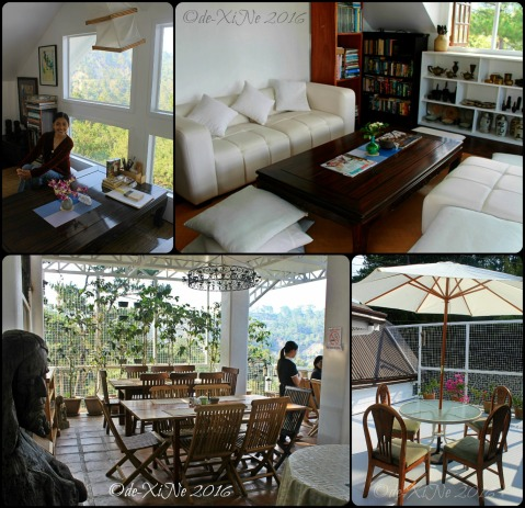 2016-04-13 metro Baguio Arcas Yard Mini Library Museum and Cafe new dining areas and new mini library