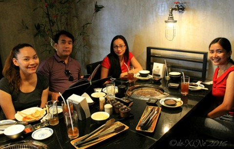 2016-05-14 Baguio Tajimaya Charcoal Grill resting after the meal