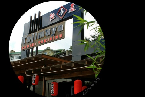 2016-05-14 Baguio Tajimaya Charcoal Grill store sign