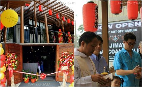 2016-05-14 Baguio Tajimaya Charcoal Grill grand opening blessing
