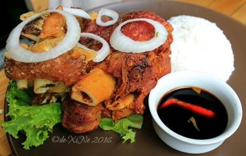 2016-05-23 Baguio Cheat Day Resto crispy pata value meal