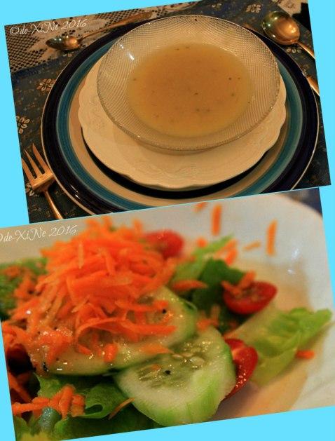 2016-05-26-27 Baguio Le Coq Floral soup starters and salad digestif