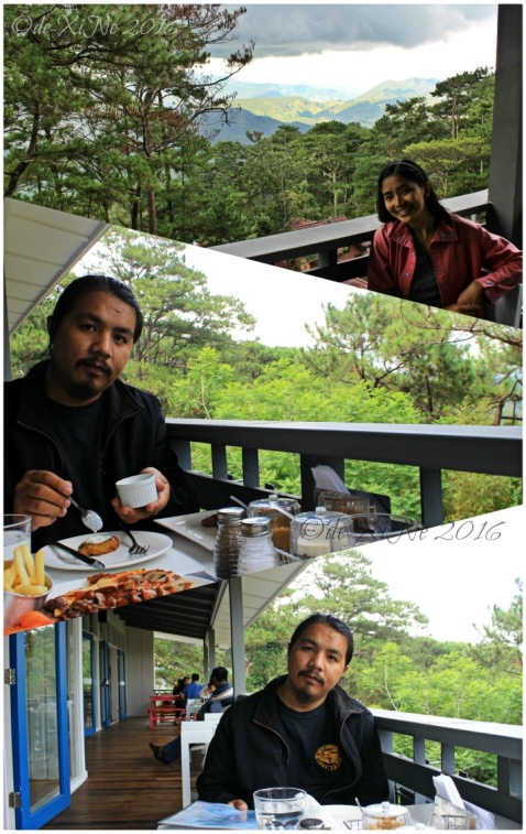 2016-06-06 Baguio Lemon and Olives Greek Taverna X+1 hanging out at the balcony