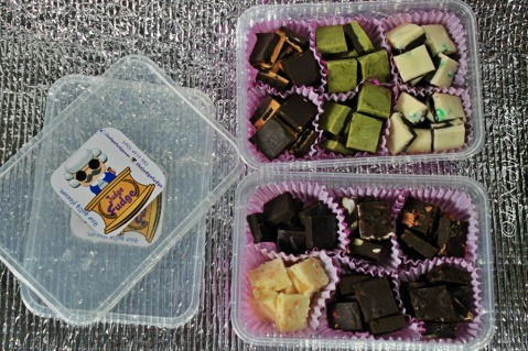 2016-07-09 Baguio Judge Fudge trays with nine flavors