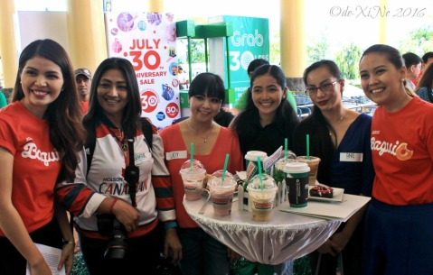 2016-07-22 Baguio second Krispy Kreme branch grand opening Cordillera bloggers with Krispy Kreme managers