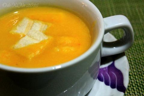 2016-07-29 Baguio Bay Leaf Restaurant by Cris d Cuisine cream of pumpkin soup