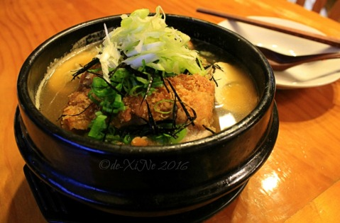 2016-08-10 Baguio Spoon and Stone Cafe and Restaurant chicken katsu ramen
