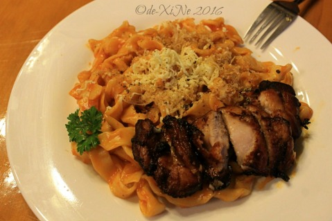 2016-08-10 Baguio Spoon and Stone Cafe and Restaurant teriyaki pasta