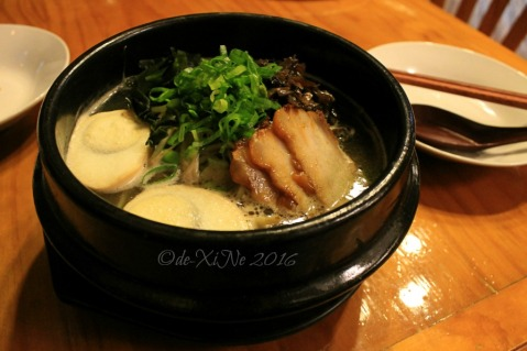 2016-08-10 Baguio Spoon and Stone Cafe and Restaurant tonkotsu ramen