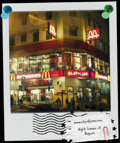 Baguio McDonalds Session by CityofPines site embellished