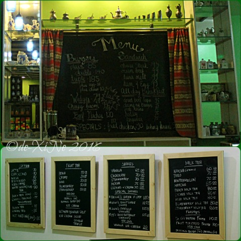 2016-08-17 Baguio Pre-Tea Belle s Cafe and Restaurant menu