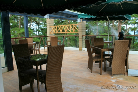 Baguio The Outlook Steak and Grill at Grand Sierra Pines Hotel rooftop dining area