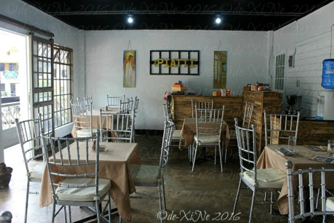 Baguio I Piatti Cafe dining area