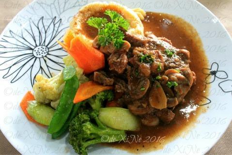 Baguio I Piatti Cafe braised beef flamande