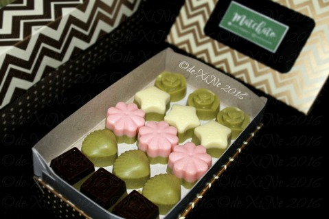 Baguio Matchato 2016 matcha chocolates limited set with special flavor Septemberry