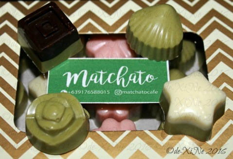 Baguio Matchato the four main flavors that make up the classic set 2016