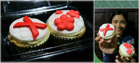 Baguio Matchato special strawberry cupcakes