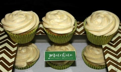 Baguio Matchato matcha cupcakes