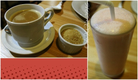 Baguio Chef Indian and Pakistani Restaurant chai Indian spiced milk tea and yogurt strawberry shake
