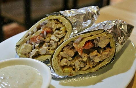 Baguio Chef Indian and Pakistani Restaurant shawarma pita wrap