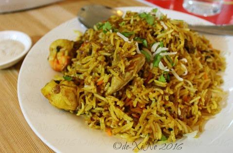 Baguio Chef Indian and Pakistani Restaurant chicken biryani