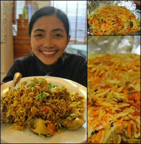 Baguio Chef Indian and Pakistani Restaurant chicken biryani rice
