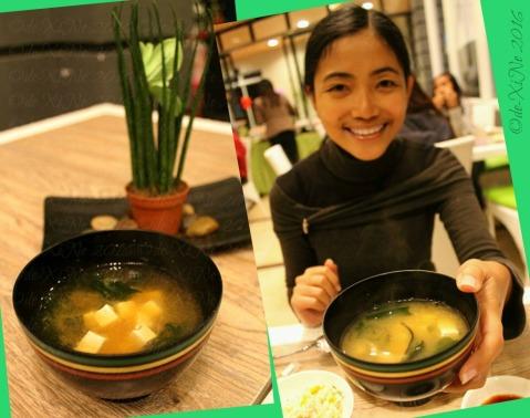Baguio Shoriken Buffet and Ramen Mines View Restaurant miso soup