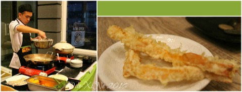 Baguio Shoriken Buffet and Ramen Mines View Restaurant freshly fried tempura