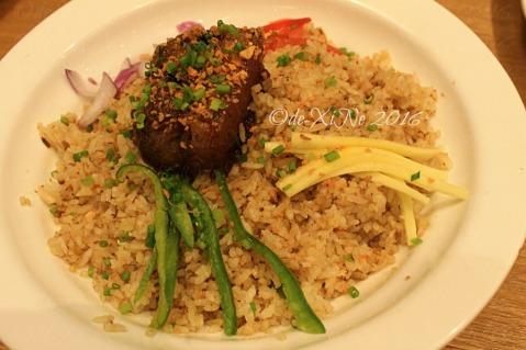 Baguio Kuya J Restaurant humbinagoongan rice platter