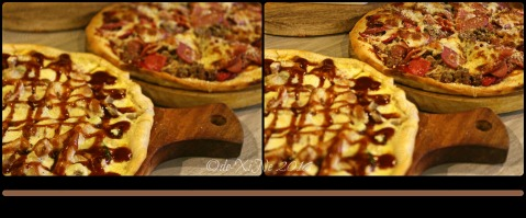 La Trinidad metro Baguio The Loft Restobar chicken barbecue pizza and all meat supreme pizza