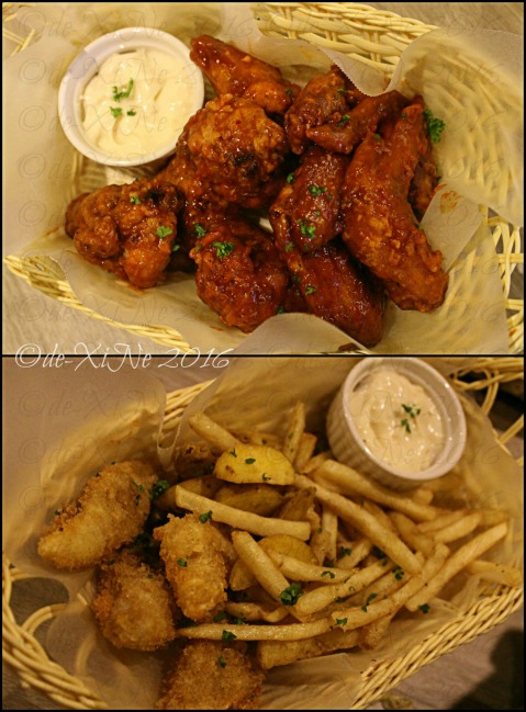 La Trinidad metro Baguio The Loft Restobar buffalo wings and fish and chips