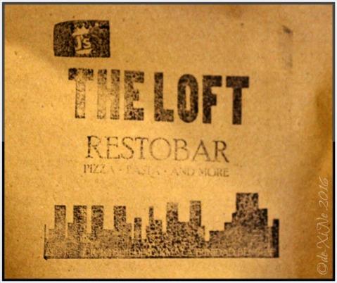 La Trinidad metro Baguio The Loft Restobar takeout bag