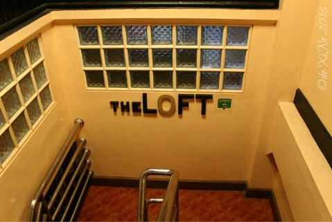 La Trinidad metro Baguio The Loft Restobar last staircase to the dining area