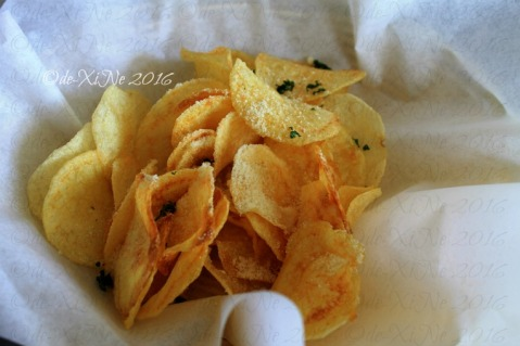 Baguio The Nook Kitchen & Pub at LeFern Hotel II potato chips while waiting