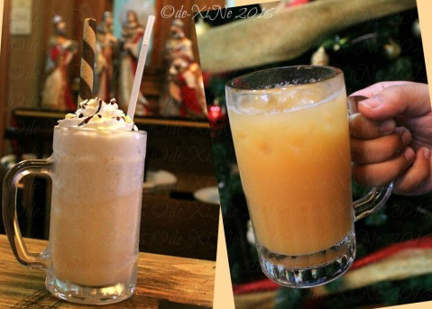 2016-12-06-baguio-bza-homearts-cafe-drinks lychee peach specialty drink and butter beer