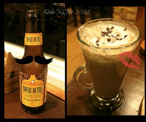 Baguio Ze Creamery 2016 Brew kettle beer and red wine chocolate hottie drink