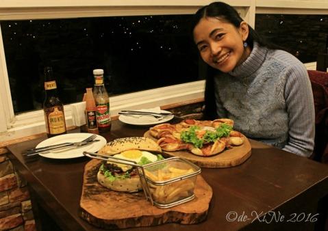Xine at Baguio Ze Creamery 2016