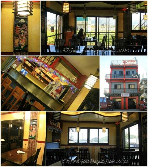 La Trinidad metro Baguio Yasuragi Japanese Cuisine dining area