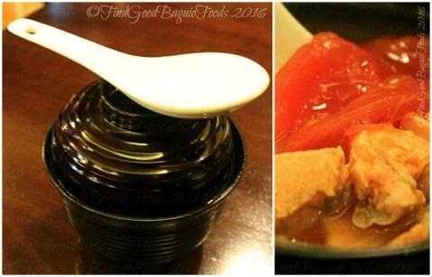 La Trinidad metro Baguio Yasuragi Japanese Cuisine shake soup or salmon soup
