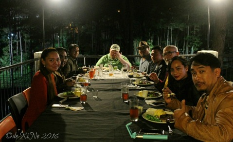 Baguio Ozark Private Table dinner under the stars amidst the trees