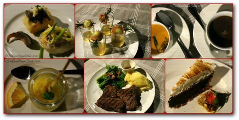 Baguio Ozark Private Table dishes by Chef Carla Gabor