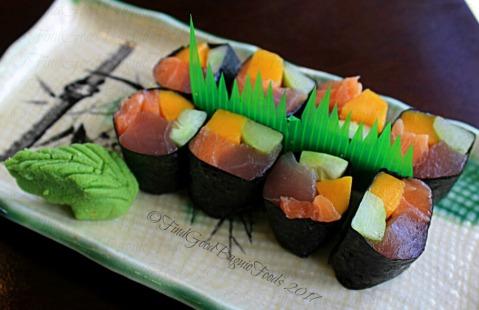 La Trinidad metro Baguio Yasuragi Japanese Cuisine rainbow roll