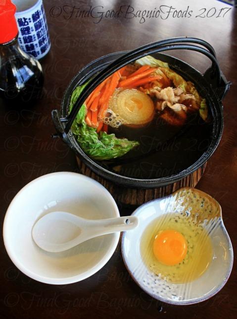 La Trinidad metro Baguio Yasuragi Japanese Cuisine sukiyaki