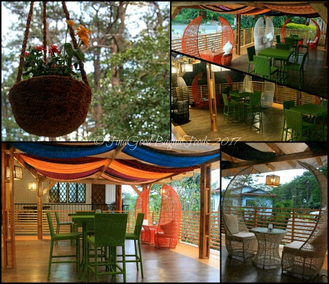 Baguio Decades Restaurant extended balcony dining